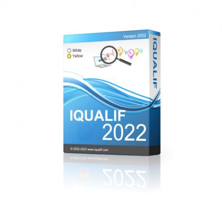 IQUALIF Portugal Gelbe, Fachleute, Unternehmen